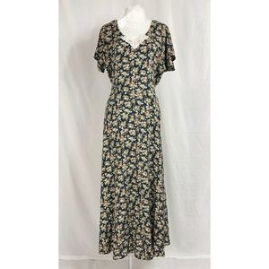 All That Jazz Vintage Floral Dress 11/12